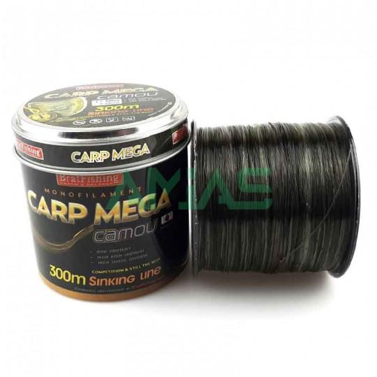Леска 300м. BratFishing Carp Mega Camou