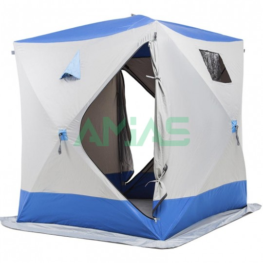 Палатка Daster Куб blue