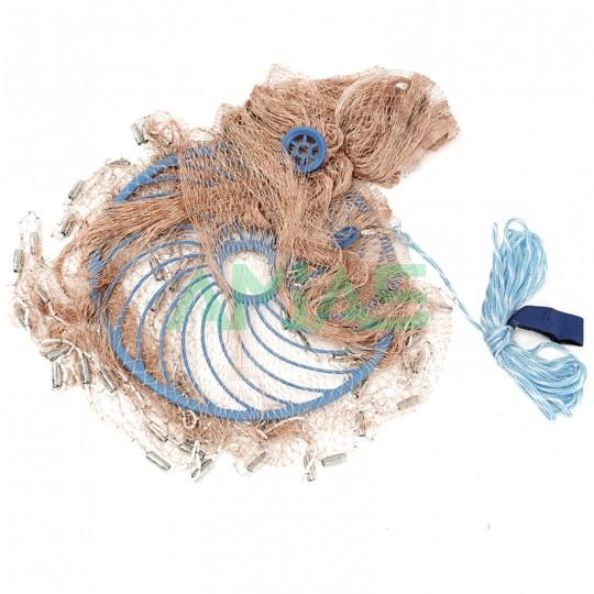 Кастинговая сеть из нитки, парашют с кольцом Фрисби