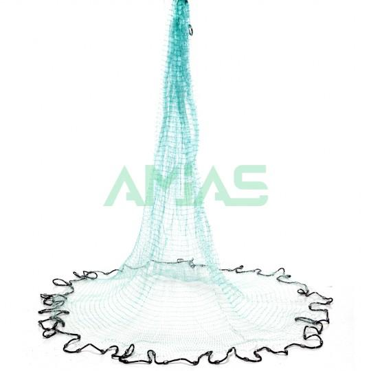 Кастинговая сеть 3м из плетеной лески