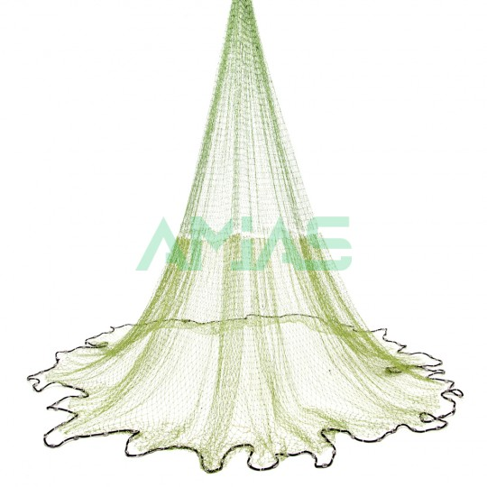 Кастинговая сеть 3, 4, 5, 6м Американского типа ячейка 25мм