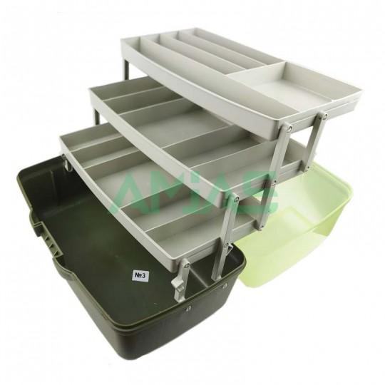 Ящик для снастей Aquatech 1703 3х полочный