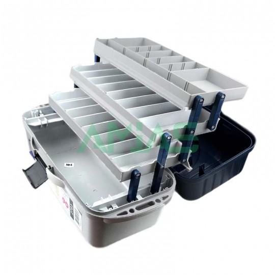 Ящик для снастей Aquatech 2703 3х полочный рыболовный