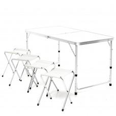 Стол для пикника складной +4 стула
