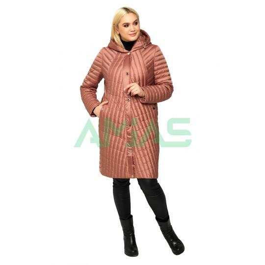 Пальто стеганное демисезонное 853
