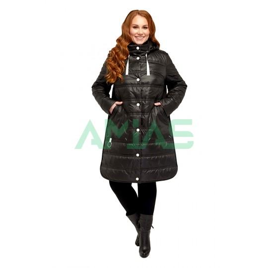 Пальто стеганное демисезонное 857
