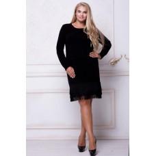 Классическое черное платье, Арт. 536