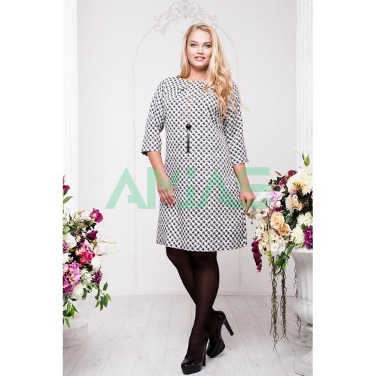 Платье гусиная лапка Арт. А17