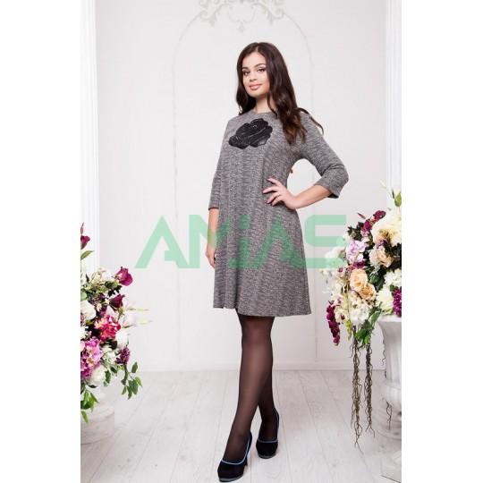 Платье-туника роза, Арт. А20