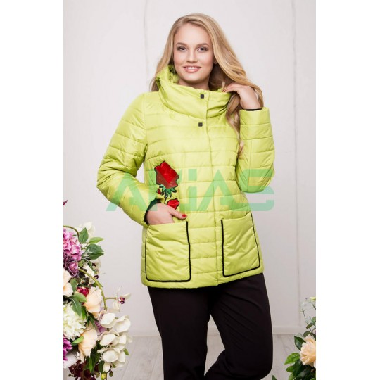Женская куртка с вышивкой, Riches Арт. 588