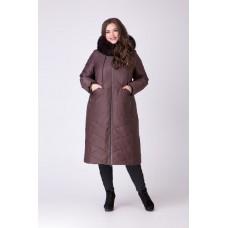 Женское пальто с песцом, Riches арт.693N